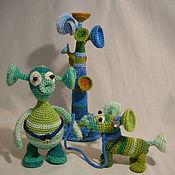 Куклы и игрушки ручной работы. Ярмарка Мастеров - ручная работа Инопланетянин (сынок). Handmade.