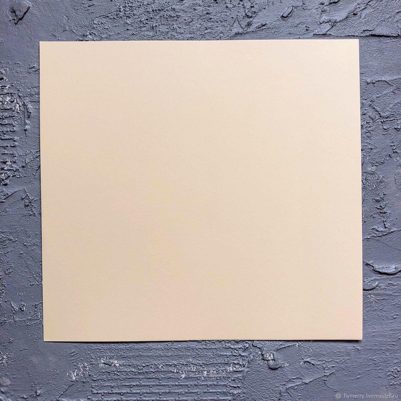 Бумага для основ страничек - 24 х 25,5 см (270 гр), Бумага для скрапбукинга, Москва,  Фото №1