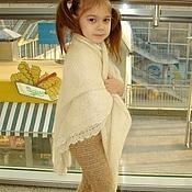 Одежда ручной работы. Ярмарка Мастеров - ручная работа Штаны вязаные вручную «Нежное Чудо» детские для холодной зимы артикул. Handmade.