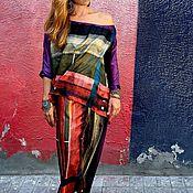Одежда ручной работы. Ярмарка Мастеров - ручная работа Костюм свободный цветной. Handmade.