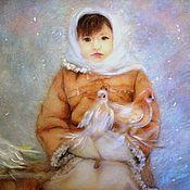 """Картины и панно ручной работы. Ярмарка Мастеров - ручная работа """"Снегурочка"""". Handmade."""