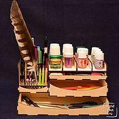 Органайзеры ручной работы. Ярмарка Мастеров - ручная работа Вертикальная подставка для модульного органайзера, №3. Handmade.