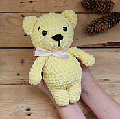 Куклы и игрушки handmade. Livemaster - original item Knitted toy bear plush stuffed bear. Handmade.