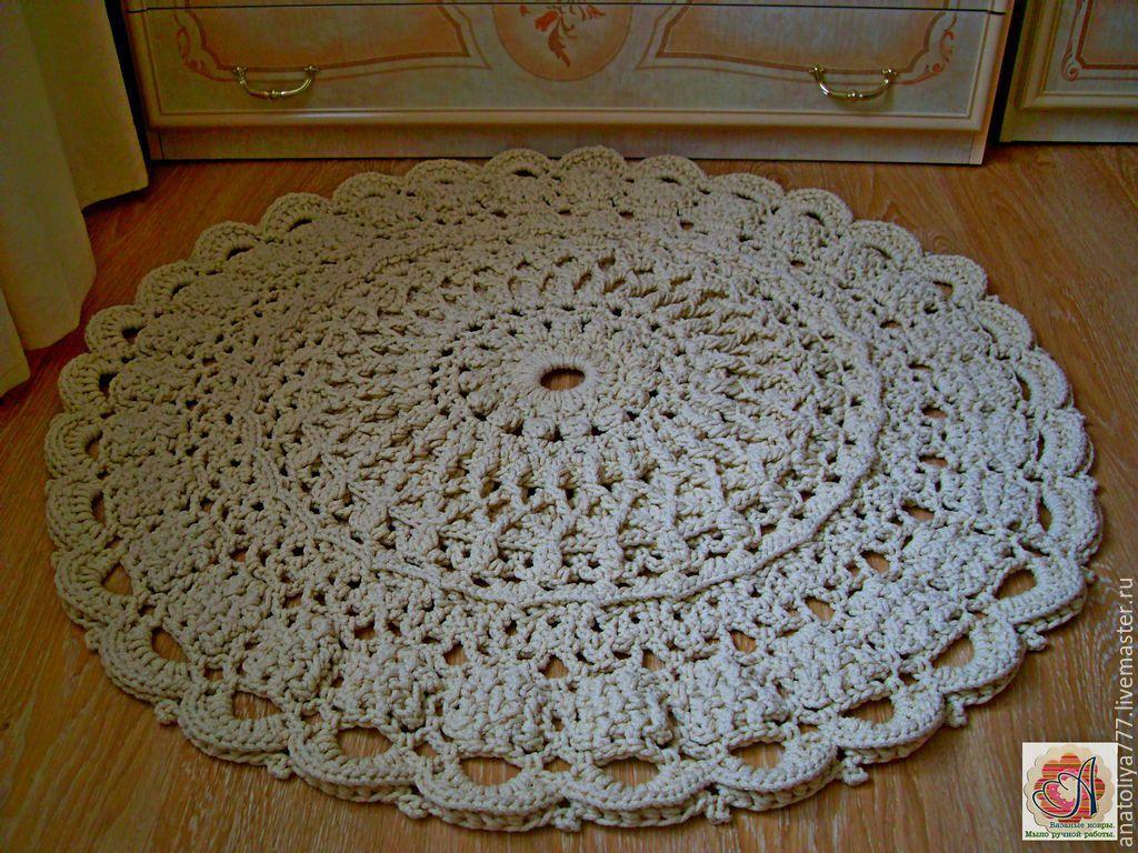 рельефные ковры из шнура свежие