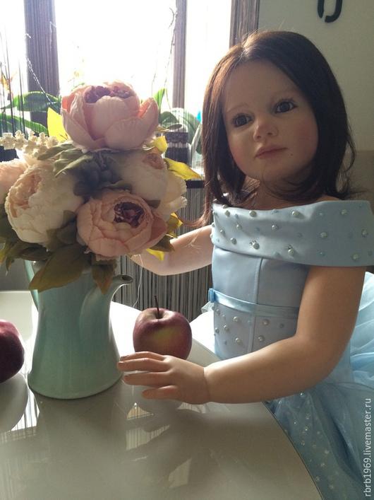 Куклы-младенцы и reborn ручной работы. Ярмарка Мастеров - ручная работа. Купить Милая ,добрая ,нежная -Милена. Handmade. Голубой