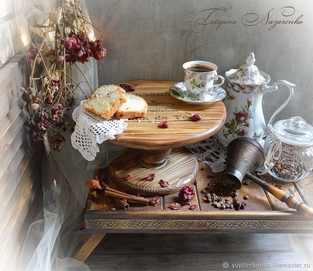 Тортовница или подставка для пирожных, Корзины коробы, Краснодар, Фото №1
