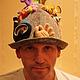 Банные принадлежности ручной работы. Смешные банные шапки. Марина Шумская (ms1102). Ярмарка Мастеров. Банная шапка, оригинальный подарок