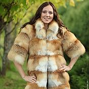 Одежда handmade. Livemaster - original item The fur of the cross Fox. Handmade.