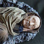 Куклы и игрушки ручной работы. Ярмарка Мастеров - ручная работа Старик, спящий как ребенок, авторская кукла. Handmade.