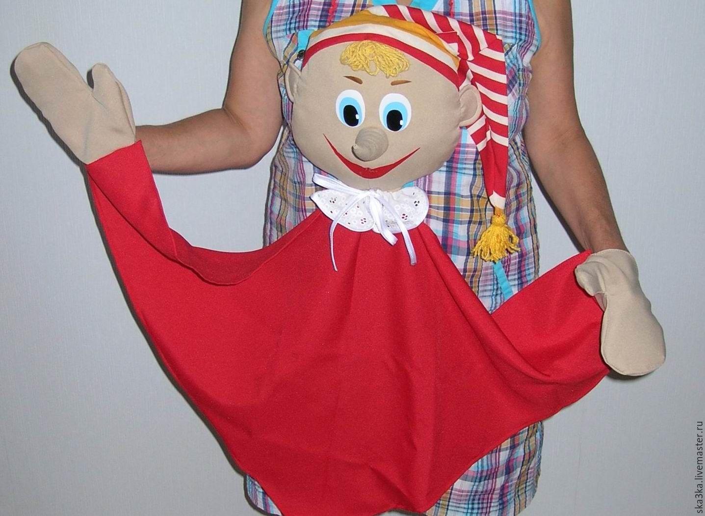 Как сшить куклу для театра кукол 502
