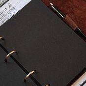 Материалы для творчества handmade. Livemaster - original item Replacement unit A5 Black. Handmade.