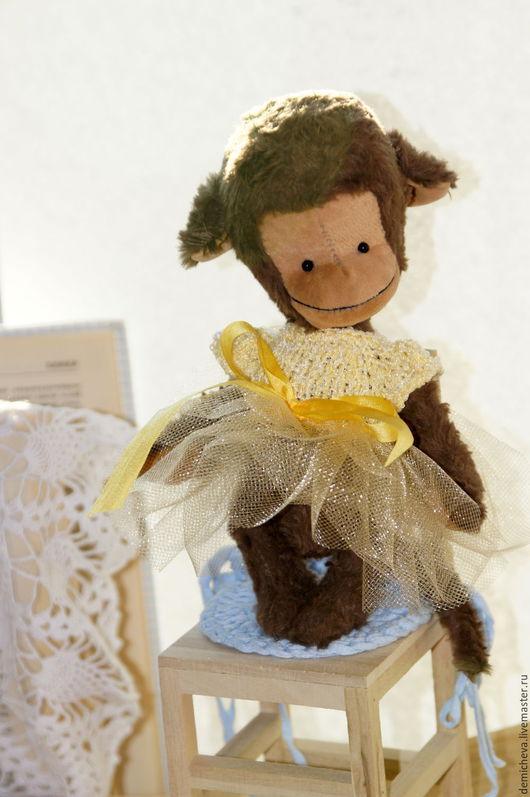 Мишки Тедди ручной работы. Ярмарка Мастеров - ручная работа. Купить Обезьянка. Handmade. Теддик, зайка, обезьяна