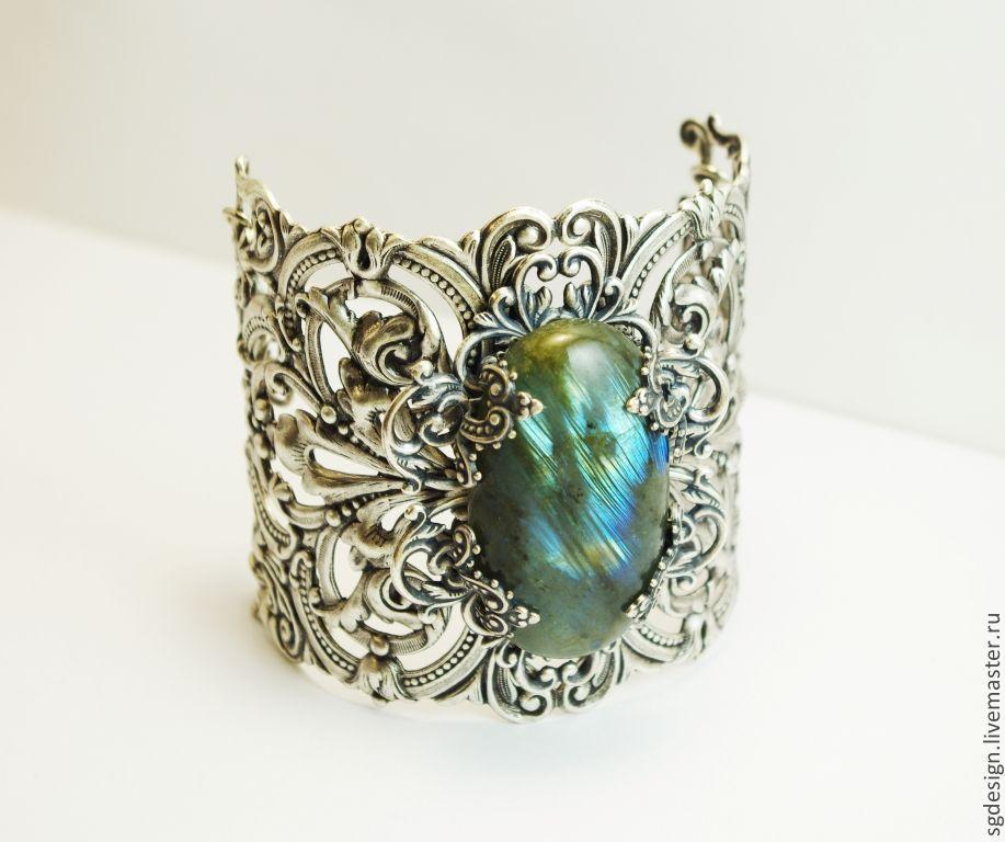 Bracelet 'Lenore' Labradorite, Bead bracelet, Yalta,  Фото №1