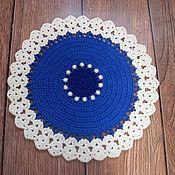 Для дома и интерьера handmade. Livemaster - original item Christmas gift Mat crochet