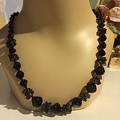 Винтаж handmade. Livemaster - original item Beads made of Czech glass beads, Czech vintage. Handmade.