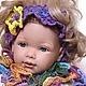 HEADBAND ,headband for baby girl 'Purple openwork', Bandage, Moscow,  Фото №1