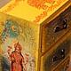 """Мини-комоды ручной работы. Ярмарка Мастеров - ручная работа. Купить Мини комод """"Индия"""". Handmade. Мини комод, буддизм"""
