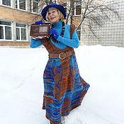 Одежда ручной работы. Ярмарка Мастеров - ручная работа Голубая мелодия. Handmade.