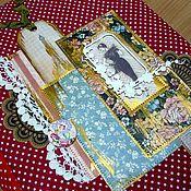 Канцелярские товары ручной работы. Ярмарка Мастеров - ручная работа Винтажный фотоальбом для Леди. Handmade.