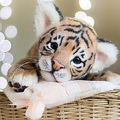 Куклы и игрушки ручной работы. Ярмарка Мастеров - ручная работа тигренок Виджай. Handmade.