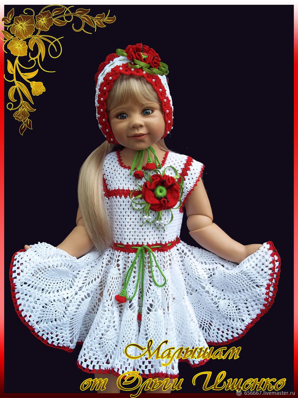 Платье Маковое поле