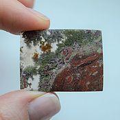 Материалы для творчества handmade. Livemaster - original item Indonesian moss agate. Cabochon 35h26h4. Handmade.
