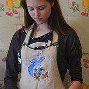 Для дома и интерьера handmade. Livemaster - original item Kitchen apron