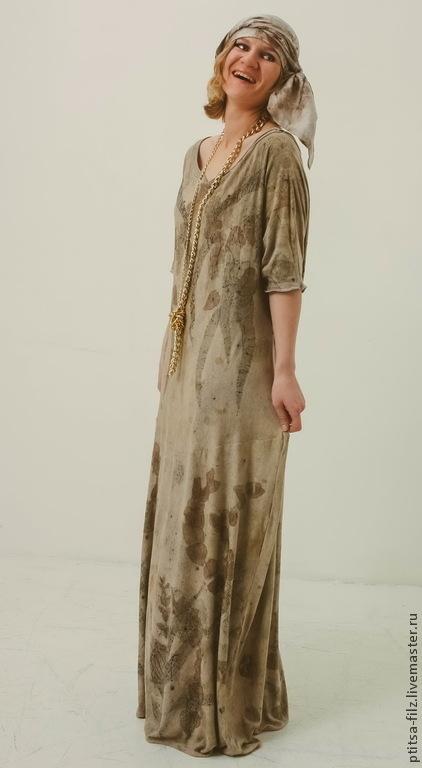 """Платья ручной работы. Ярмарка Мастеров - ручная работа. Купить Платье """"Диво"""". Handmade. Бежевый, купить платье, Вдохновение"""