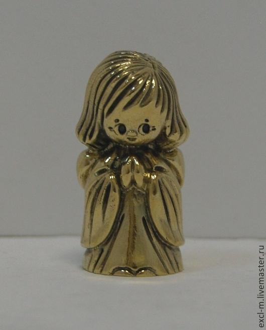 """Миниатюра ручной работы. Ярмарка Мастеров - ручная работа. Купить Статуэтка """"Ангел-девочка"""". Handmade. Ангел, ангел-хранитель, статуэтка"""