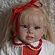 Куклы-младенцы и reborn ручной работы. Ярмарка Мастеров - ручная работа. Купить Шарлотта. Handmade. Ярко-красный, генезис