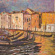 Картины ручной работы. Ярмарка Мастеров - ручная работа Венеция. 1894. Handmade.