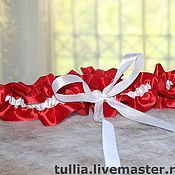 Свадебный салон ручной работы. Ярмарка Мастеров - ручная работа Подвязка. Handmade.