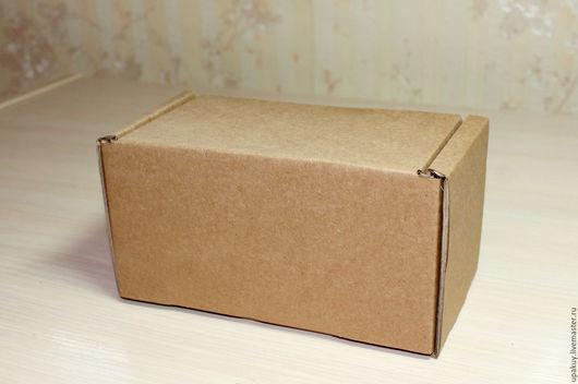 Упаковка ручной работы. Ярмарка Мастеров - ручная работа. Купить Крафт коробка 15,5x8,5x9. Handmade. Коричневый