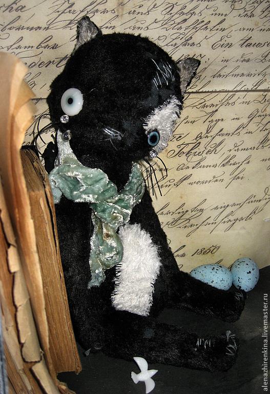 Мишки Тедди ручной работы. Ярмарка Мастеров - ручная работа. Купить Плакса. Handmade. Черный, мишка, Плюшевый мишка