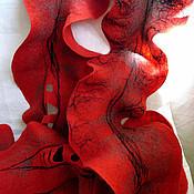 """Аксессуары ручной работы. Ярмарка Мастеров - ручная работа Шарф """"Испанские мотивы"""". Handmade."""