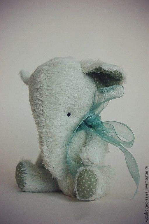 Мишки Тедди ручной работы. Ярмарка Мастеров - ручная работа. Купить Слоник. Handmade. Мятный, слоник тедди, handmade