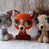 Куклы и игрушки ручной работы. Ярмарка Мастеров - ручная работа Маленький зоопарк. Handmade.