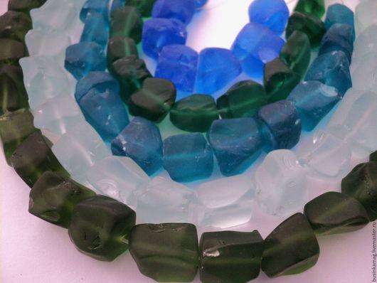 Для украшений ручной работы. Ярмарка Мастеров - ручная работа. Купить Аква кварц бусины камни матовые 20мм. Handmade.