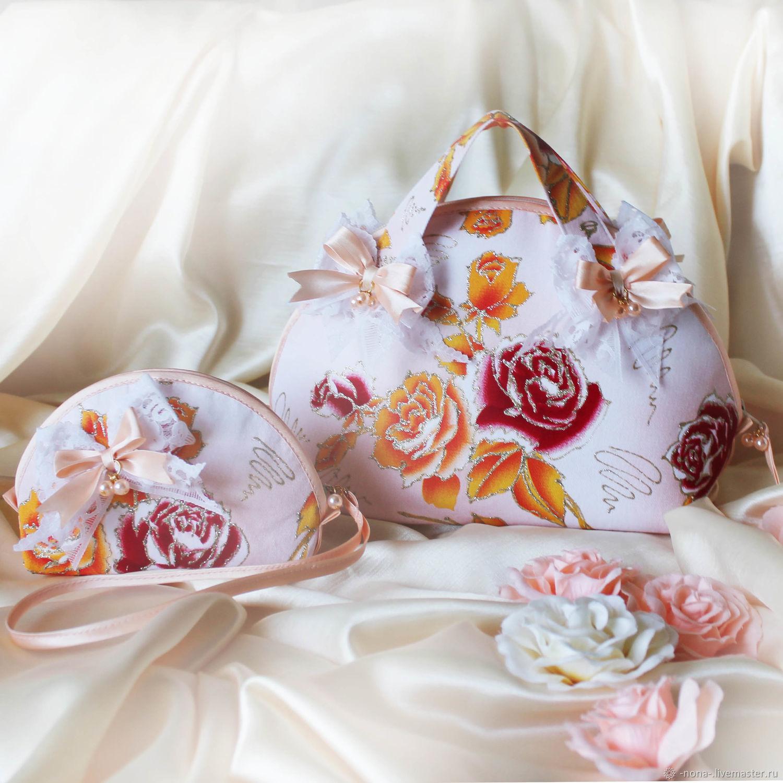 Mini cosmetic bag large cosmetic bag 'sweet, sweet morning', Beauticians, Rybinsk,  Фото №1