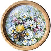 Картины и панно ручной работы. Ярмарка Мастеров - ручная работа Ромашки. Handmade.