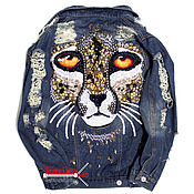 Одежда handmade. Livemaster - original item Denim jacket