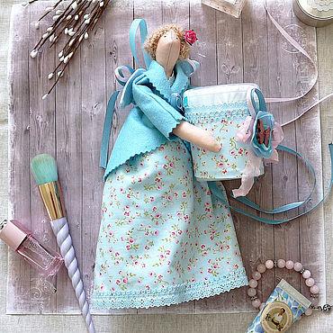 Для дома и интерьера ручной работы. Ярмарка Мастеров - ручная работа Кукла тильда хранительница, Банная фея. Handmade.