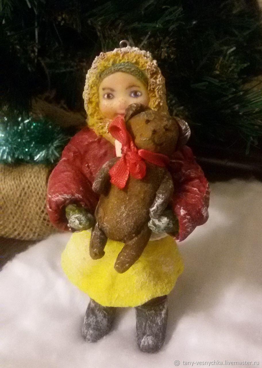 Ватная игрушка Анютка, Куклы и пупсы, Томск,  Фото №1