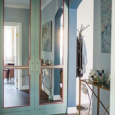 Мебель ручной работы. Ярмарка Мастеров - ручная работа Встроенный шкаф в прихожую. Handmade.