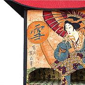 Для дома и интерьера ручной работы. Ярмарка Мастеров - ручная работа Японский чайный домик с пагодой. Картонаж. Handmade.