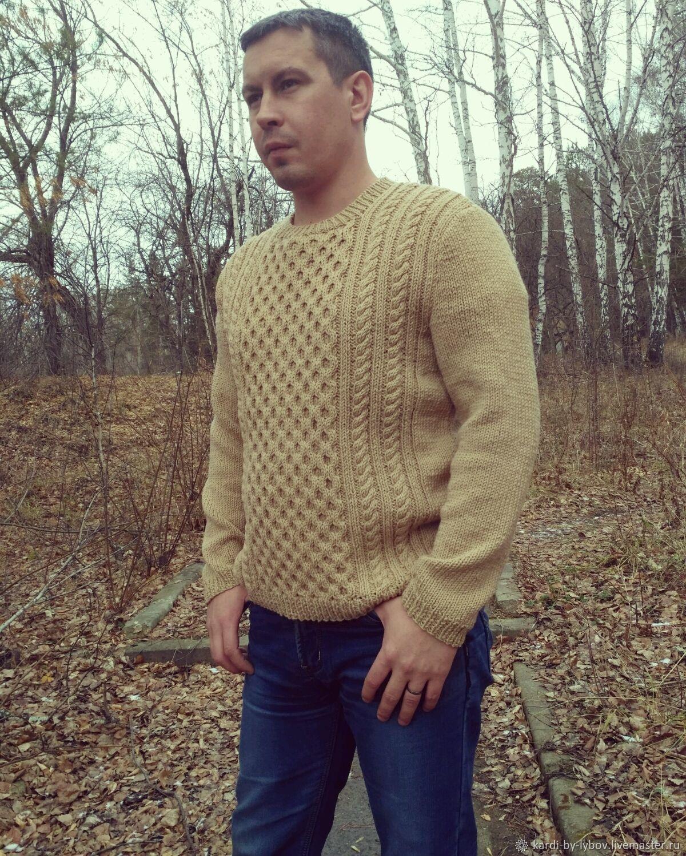 Knitted jumper from Italian Merino, Mens jumpers, Miass,  Фото №1