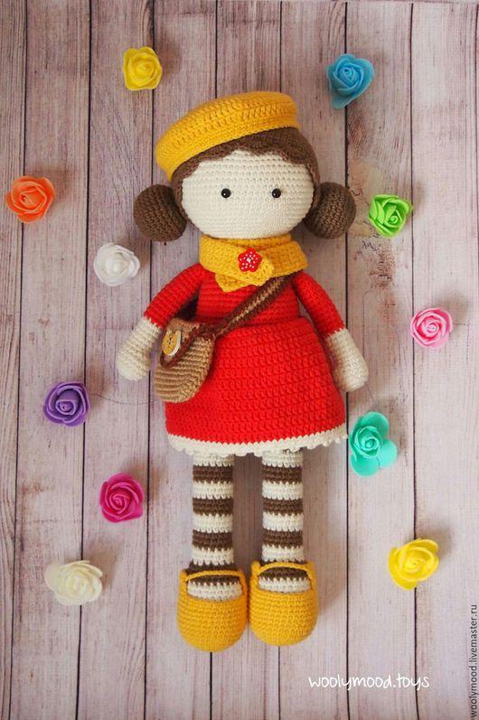 Человечки ручной работы. Ярмарка Мастеров - ручная работа. Купить Вязаная игрушка. Кукла со съёмной одеждой. Handmade. Комбинированный