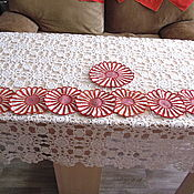 Для дома и интерьера ручной работы. Ярмарка Мастеров - ручная работа Набор ажурных салфеток. Handmade.