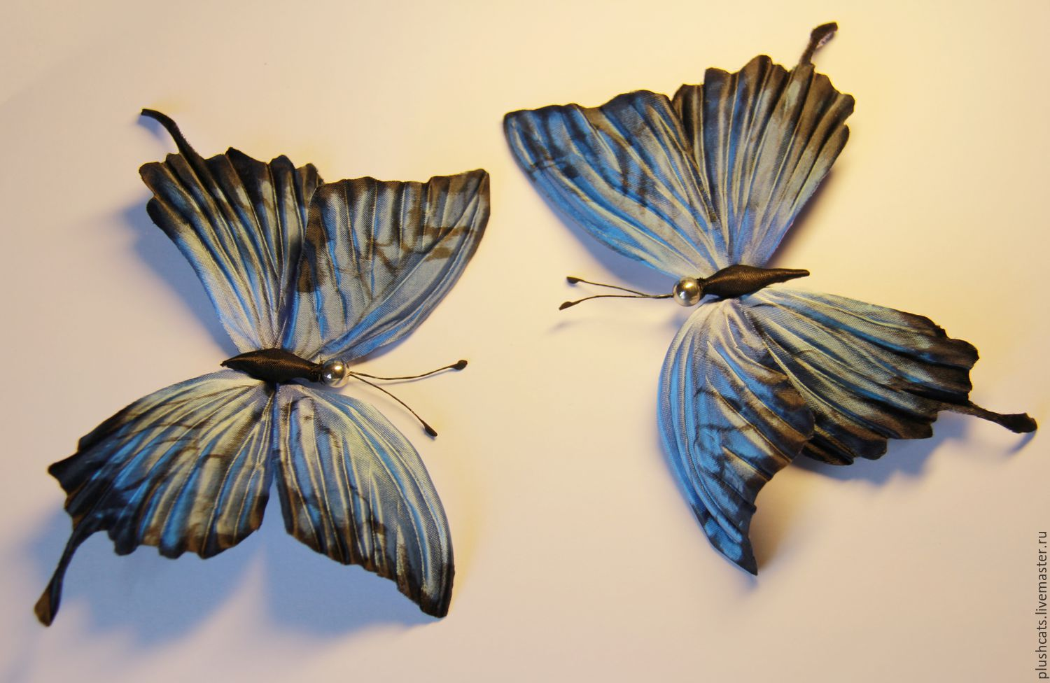 Butterfly silk, Brooches, Moscow,  Фото №1