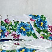 """Аксессуары ручной работы. Ярмарка Мастеров - ручная работа Комплект """"Камелия"""". Handmade."""